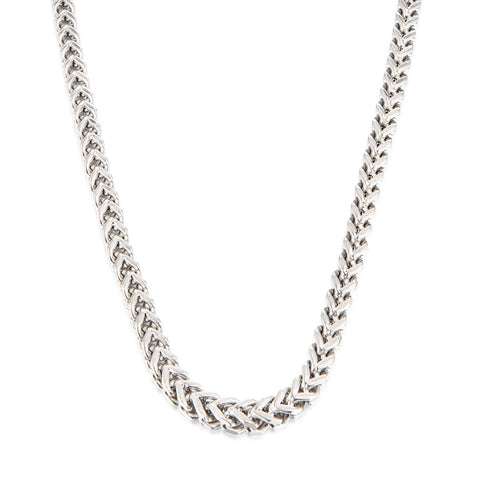 Square Franco Chain Men Necklace