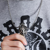 Gorgeous Beast Mastery Titanium Steel Men's Necklace