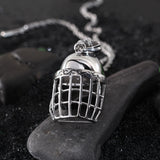 Baseball Cap Pattern Titanium Steel Men's Necklace