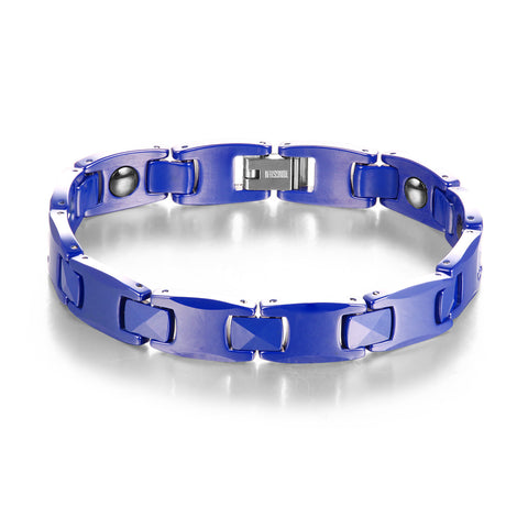 Ceramic Linked Ge Anti-Fatigue Energy Men Bracelet