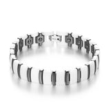 Magnetic Therapy Negative Ion Ge Link Men Bracelet