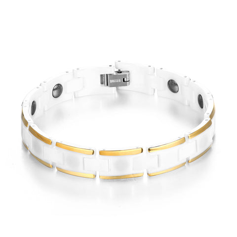 Ceramic Ge Anti-Fatigue Energy Men Bracelet