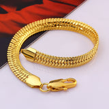 18K Plated Alloy Bracelet