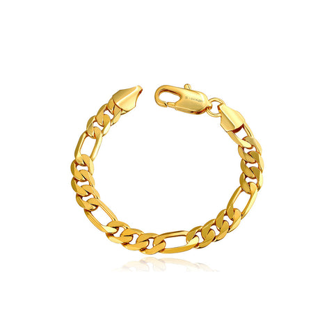 Connected Chains Bracelet Gold