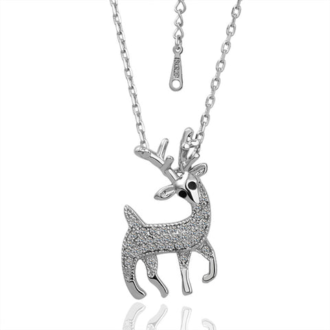 Pere David's Deer Pendant Necklace