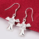 Free to Fly Drop Earrings