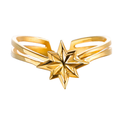 Eight-Pointed Star of Captain Marvel Avengers Ring