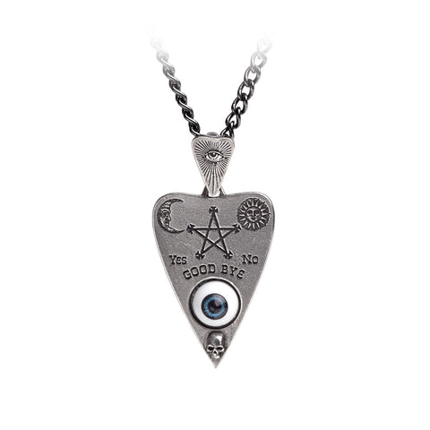 Planchette Pendant Necklace