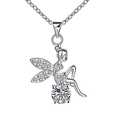 Christening Guardian Angel Pendant