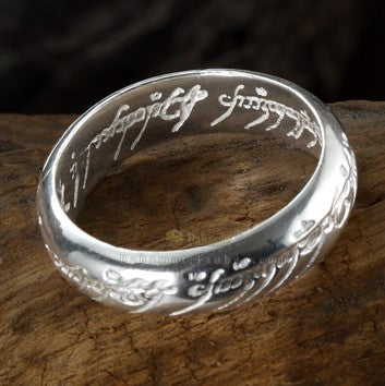 The Lord of Rings Silver Ring
