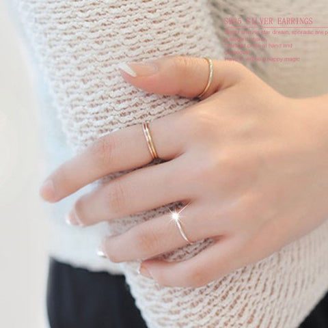 High Fashion Silver Knuckle Ring