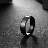 Minimalist Titanium Band Men Men's Ring