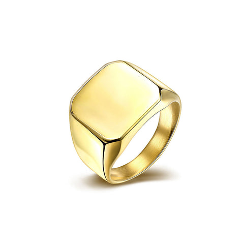 Classic Gold Men's Ring
