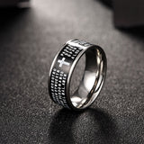 Stainless Steel Men Men's Ring