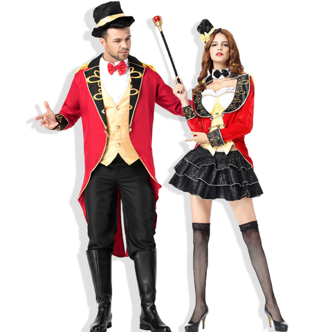 Earl of the circus Couple Halloween Costumes