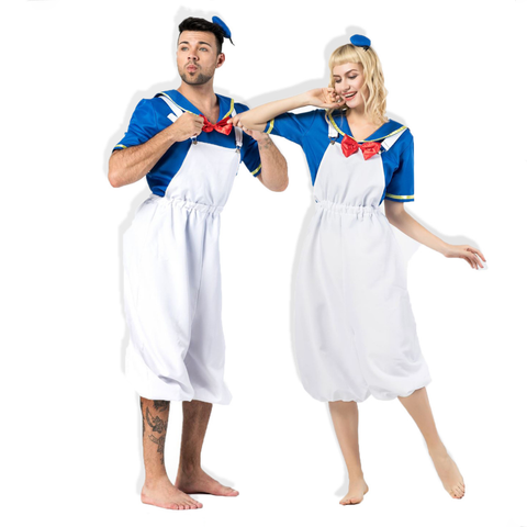 Sailor Costumes Couple Halloween Costumes
