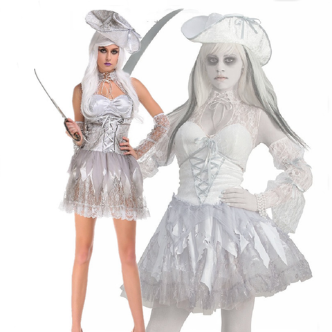 Pirates of the Undead Female Halloween Costumes