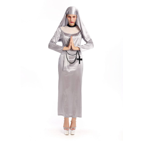 Bloody Nuns Female Halloween Costumes