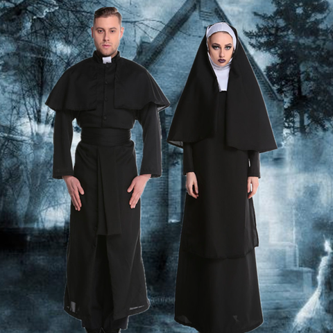 Priests and Nuns Halloween Costumes
