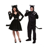 Black Bear Couple Halloween Costumes
