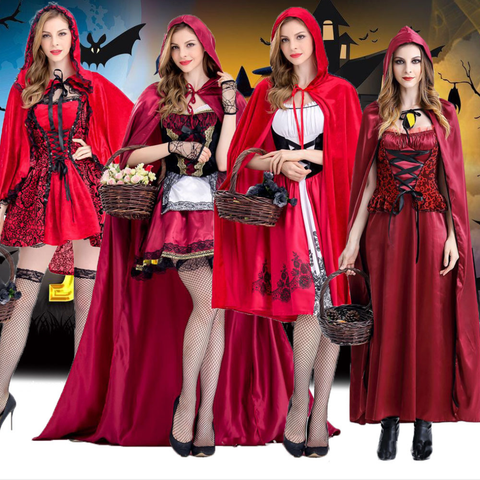 Little Red Female Halloween Costumes