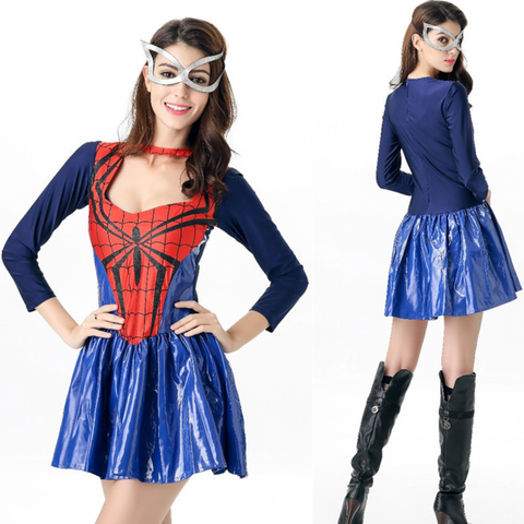Spider-Woman Female Halloween Costumes
