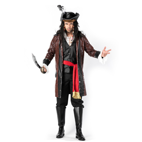Pirates of the Caribbean Male Halloween Costumes