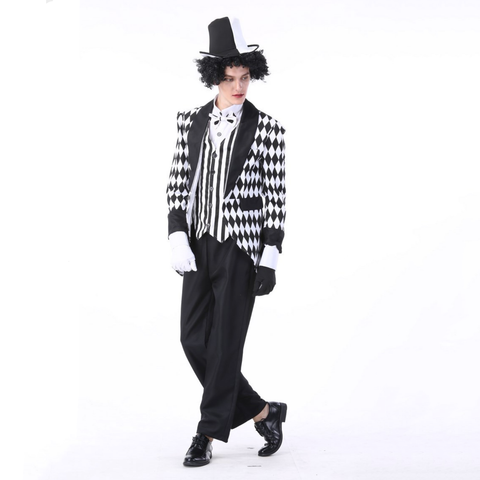Circus Magician Male Halloween Costumes