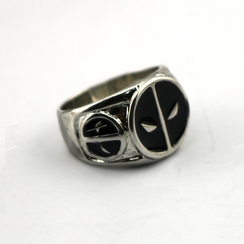 Deadpool Marvel Titanium Men's Ring