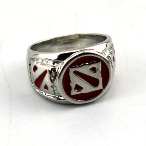 DOTA 2 Warcraft Alliance Titanium Men's Ring