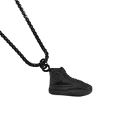 Casual shoes Shaped Hip Hop Titanium Pendent Necklace