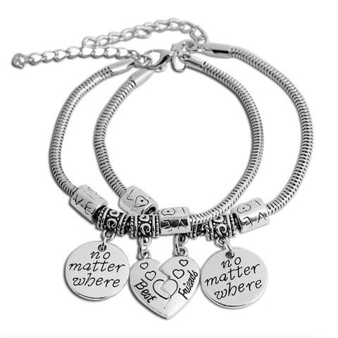 Best Friends Titanium Bracelet