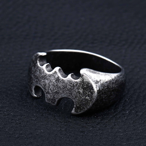 Batman Titanium Men's Ring