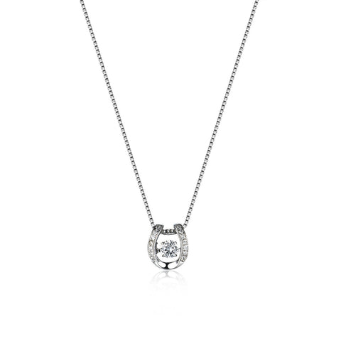 925 Sterling Silver Bed of Light Necklace