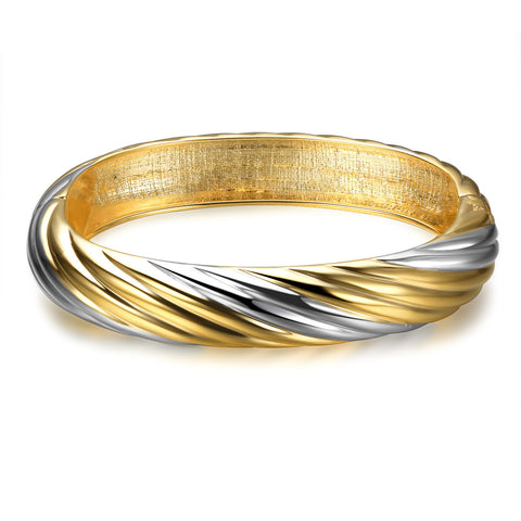 Personalized Women's Bangles Party Simple Alloy Silver-Golden