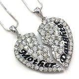 Lovely Mother & Daughter Necklace Set