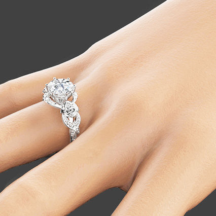 rings engagement carat vintage diamond wedding promise ring diamoind