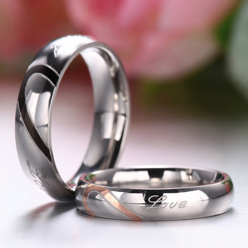 band il matching sizes gpbp wedding rose and products gold set rings titanium