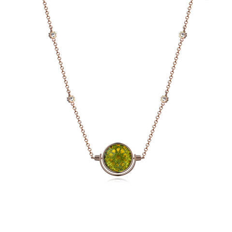 NOUSH SHIRAZ NECKLACE IN PERIDOT AND CITRINE