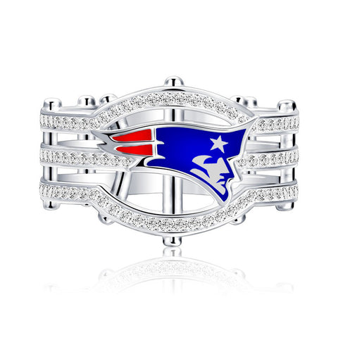 Cool New England Patriots Men And Women Fans Ring