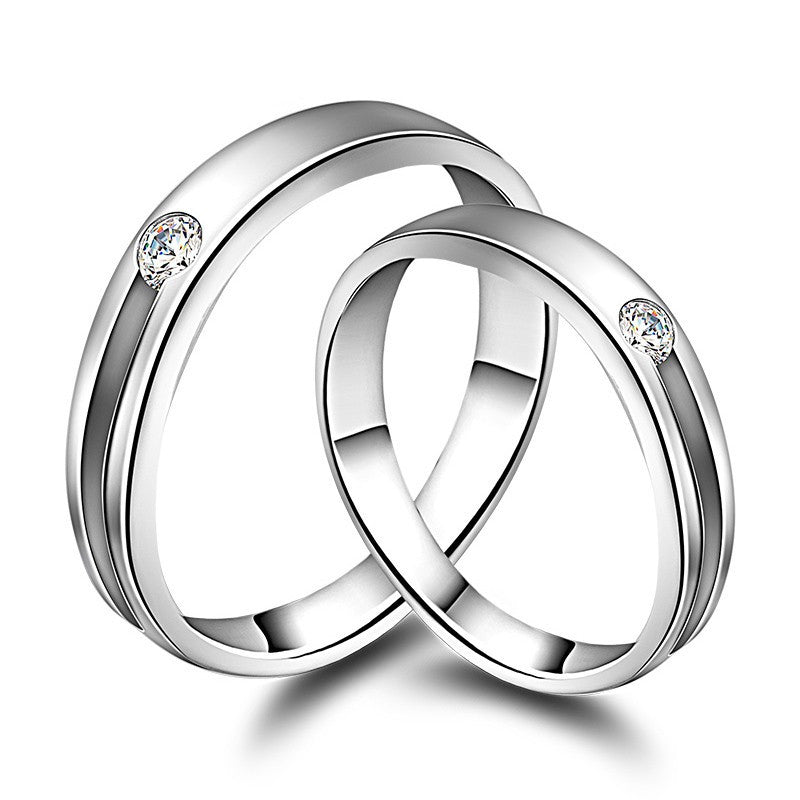 60a8a7e3b4 Hollow Out 925 Sterling Silver Lover Rings – EverMarker