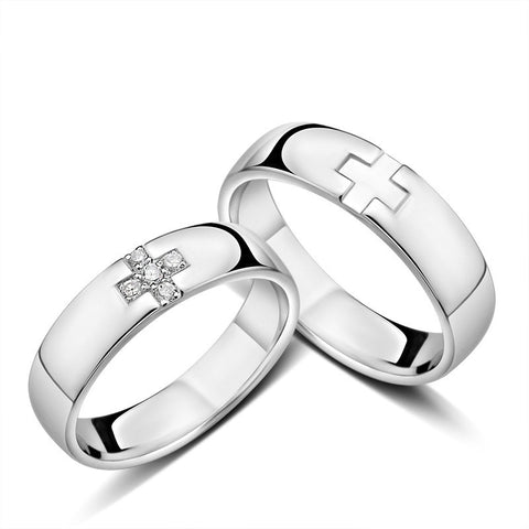 925-silver-creative-cross-engraved-couple-rings
