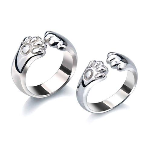 925-silver-creative-catlike-engraved-couple-rings