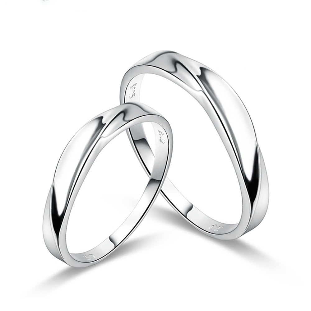 silver couples special plated products rings someone l collections evermarker for wedding love cubic infinity zirconia