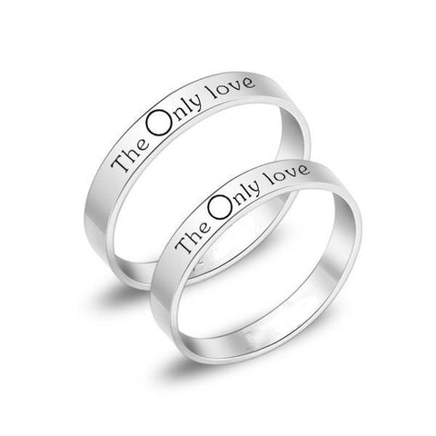 """The Only Love"" Couple Rings"