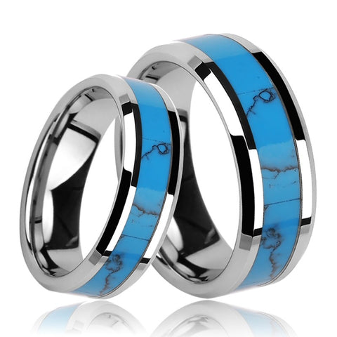 tungsten-gold-inlaid-turquoise-couple-rings