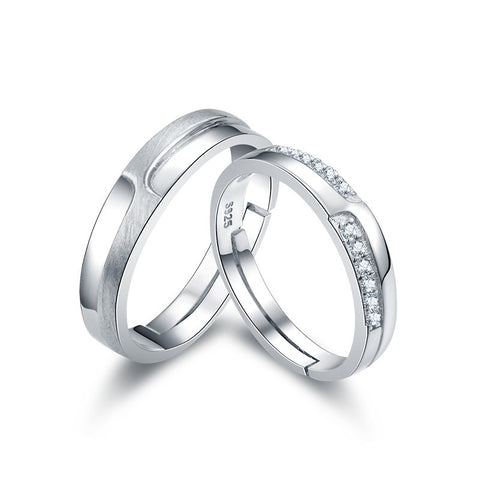new-matte-925-sterling-silver-diamond-couple-rings