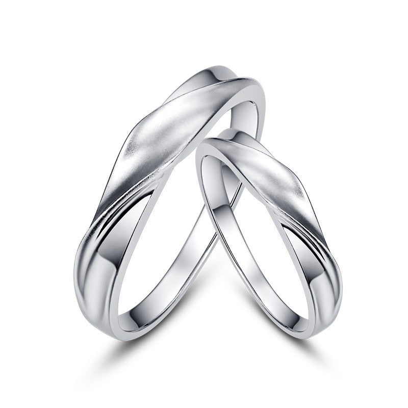original-bend-surface-925-silver-couple-rings