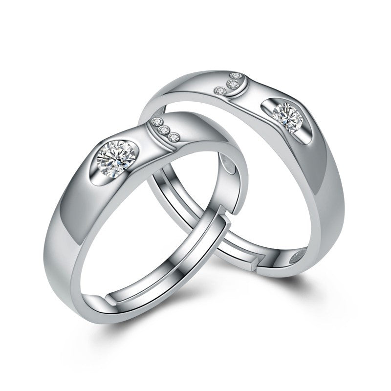 new-fashion-s925-silver-adjustable-lettering-couple-rings