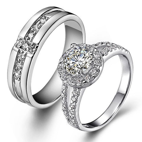 925-sterling-silver-plated-18k-white-gold-fashion-couple-rings